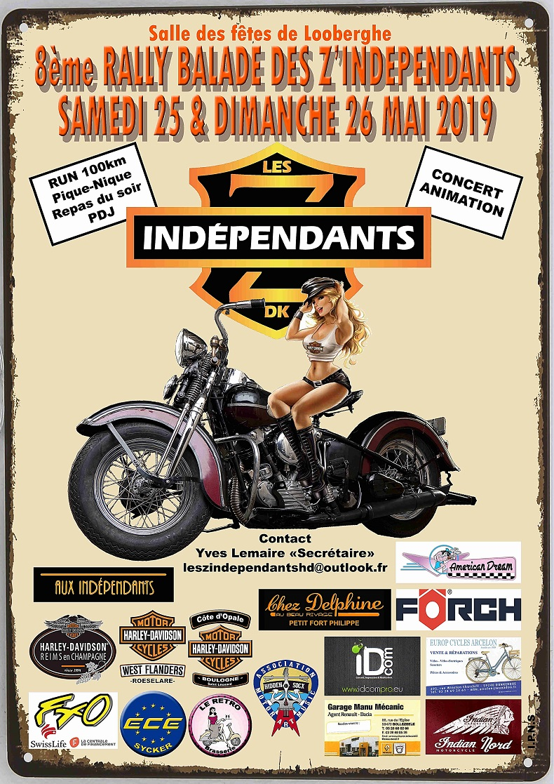 Rally Independants Affiche