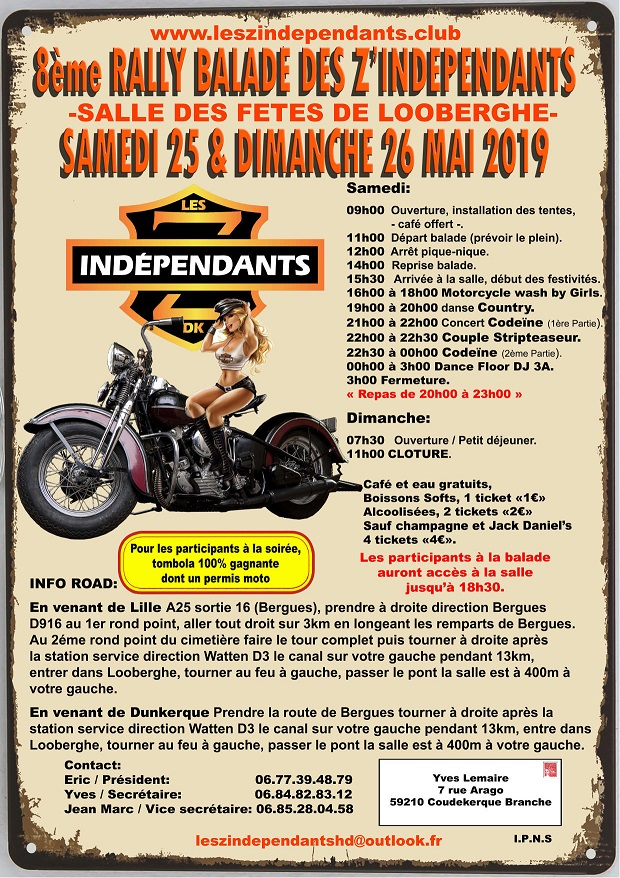 Rally independants programme